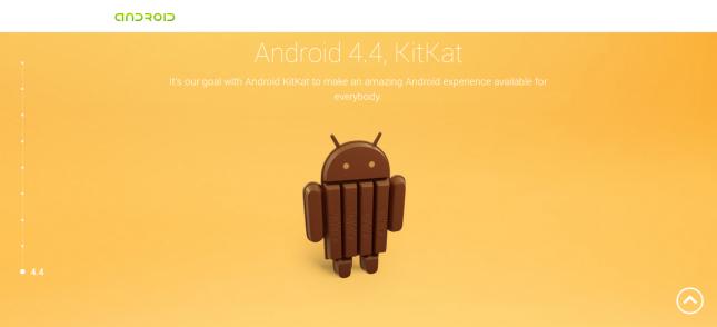 Новой версией Android будет Android 4.4 Kit Kat