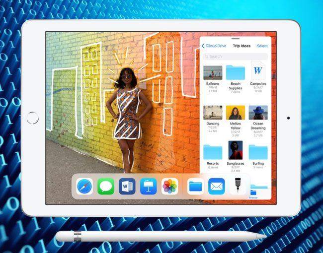 Apple iPad 2018 экран