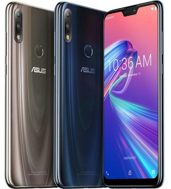 Asus ZenFone Max Pro M2 цвета