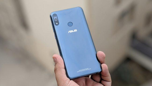 Asus ZenFone Max Pro M2 вид сзади