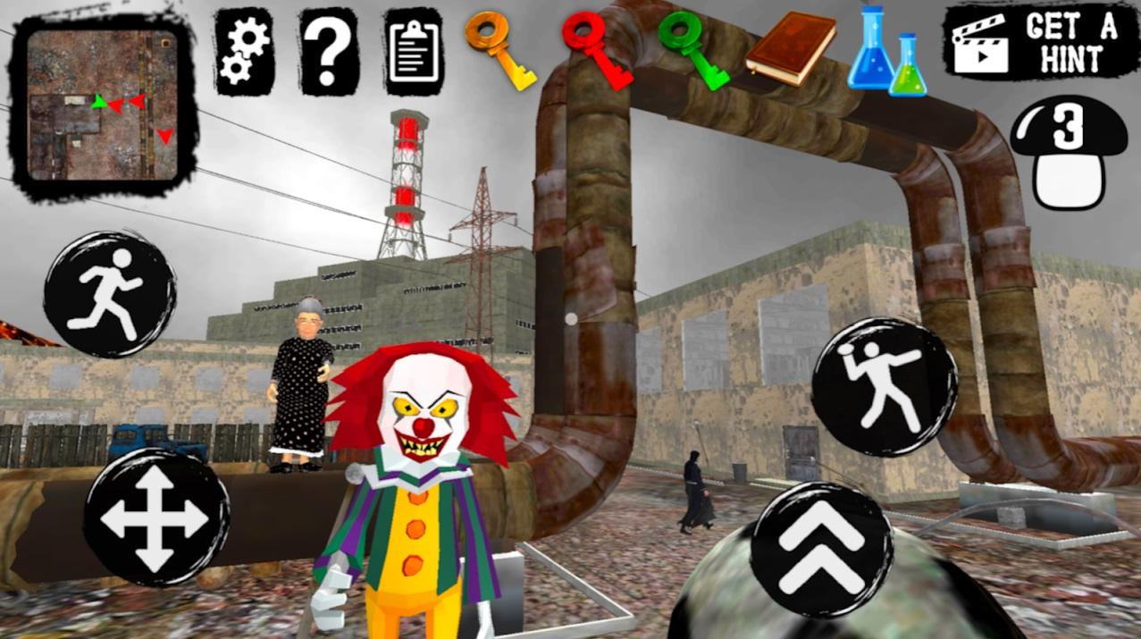 Chernobyl Neighbor. Clown Gang на Андроид