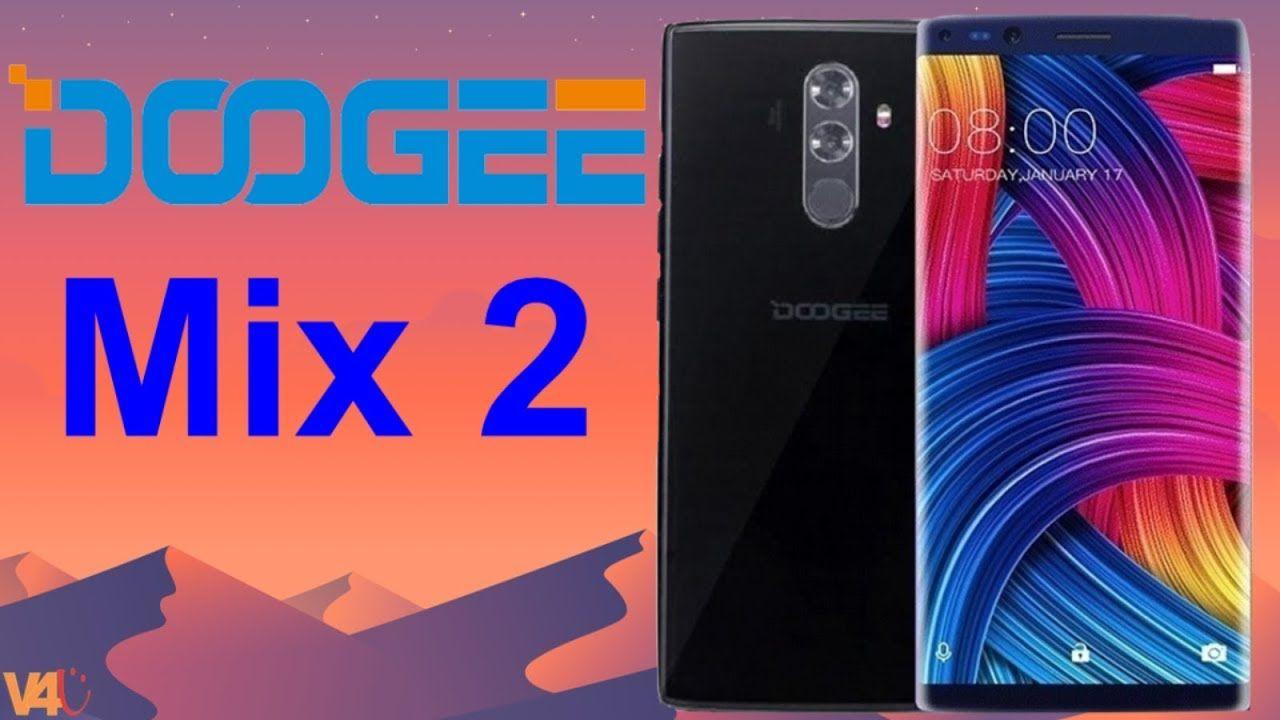 Doogee Mix 2 камера