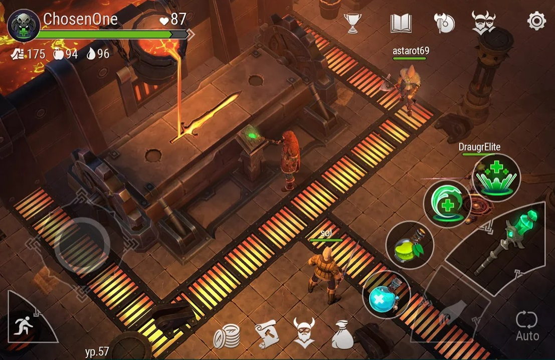 Frostborn: Coop Survival на Андроид