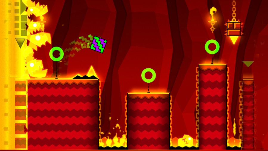 Geometry Dash Meltdown на ПК