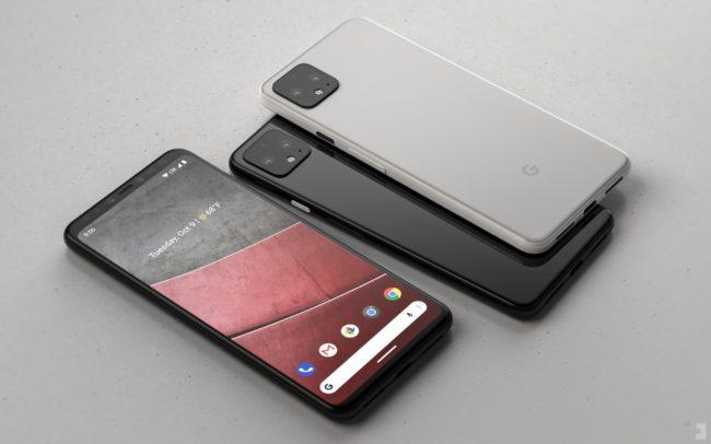 Google Pixel 4 внешний вид