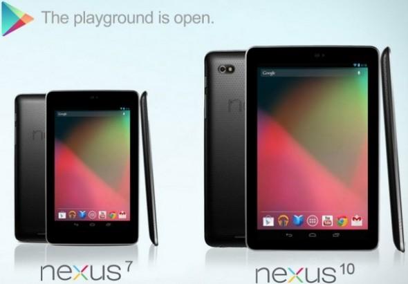 Google Nexus 10 выйдет в следующем году