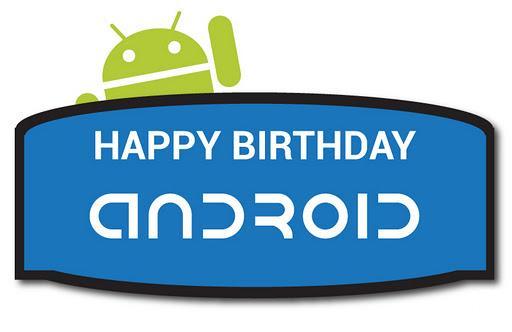 У Андроида сегодня день рожденья! Ему исполнилось 4 года