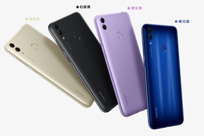 Huawei Honor 8C цвета