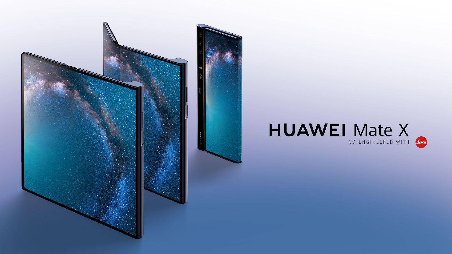 Смартфон Huawei Mate X — дата выхода, обзор