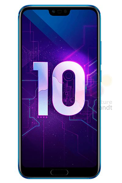Huawei Honor 10 дизайн