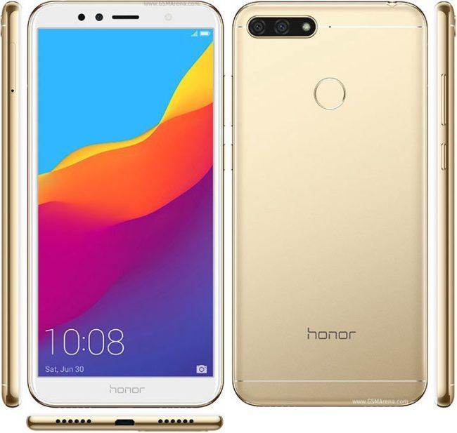 Huawei Honor 7A Pro экран