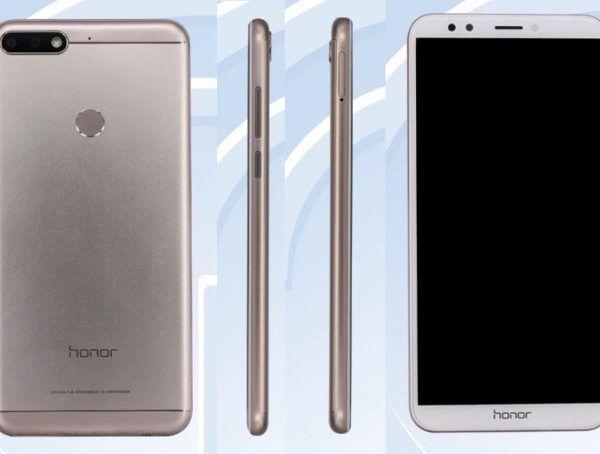 Huawei Honor 7C дизайн