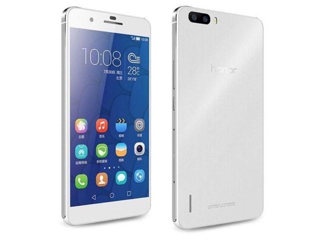 Huawei Honor 7C экран
