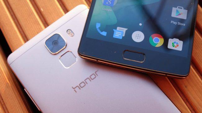 Huawei Honor Play 7 камера