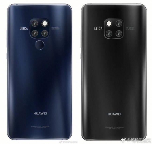 Huawei Mate 20 камеры
