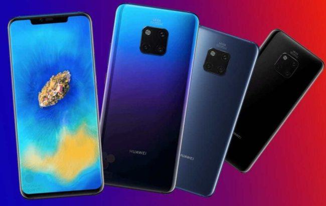 Huawei Mate 20 экран