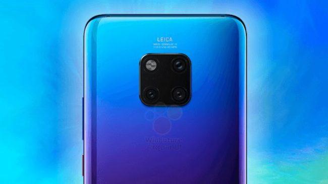 Huawei Mate 20 камера