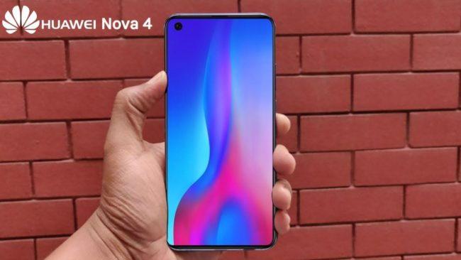 Huawei Nova 4 внешний вид