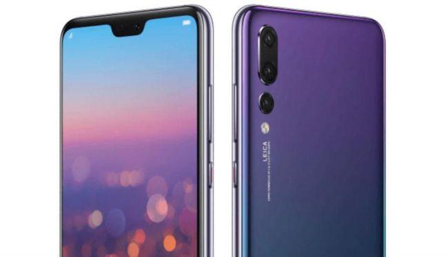 Huawei P20 Pro дисплей