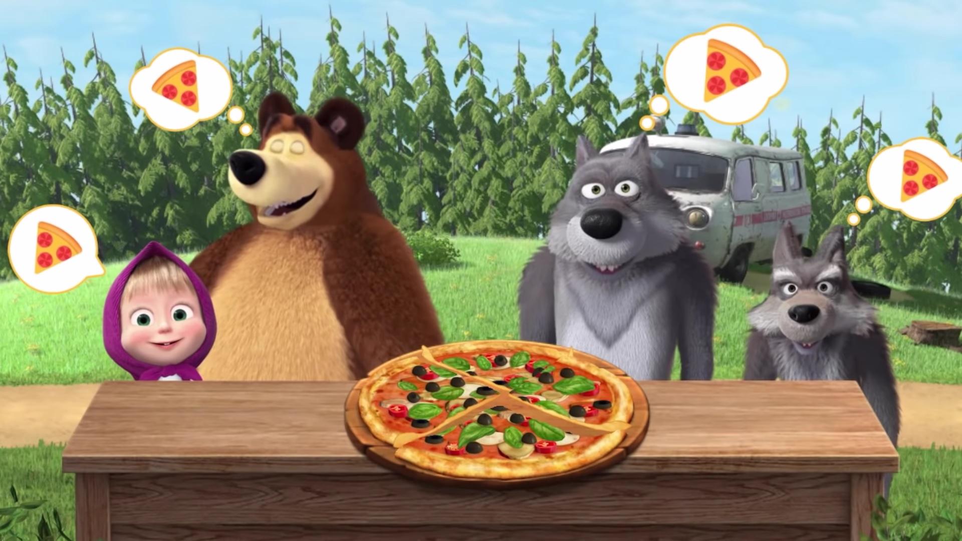 Маша и Медведь: Пиццерия на Андроид