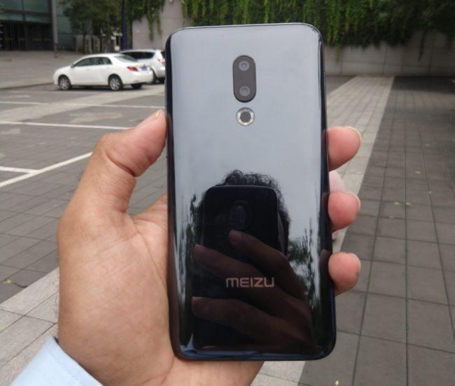 Meizu 16X камера