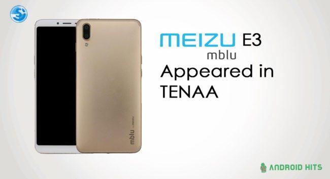 Meizu E3 камера