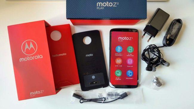 смартфон Moto Z3