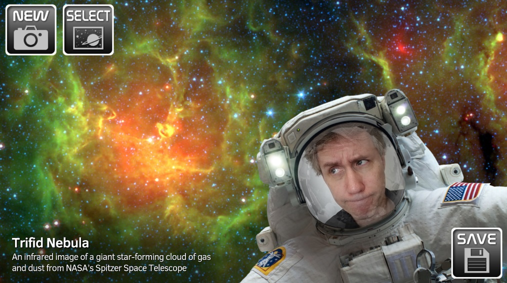 NASA Selfies на Андроид