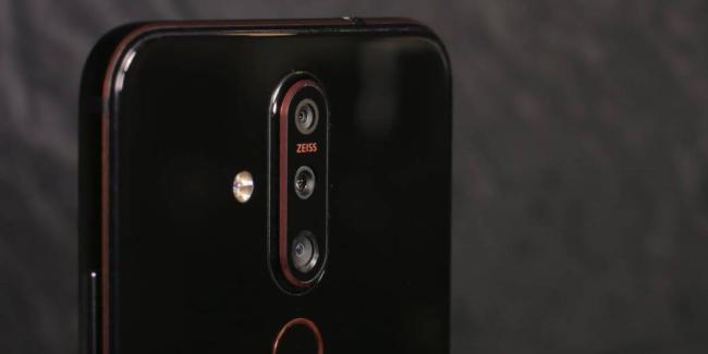 Nokia 6.2 камера