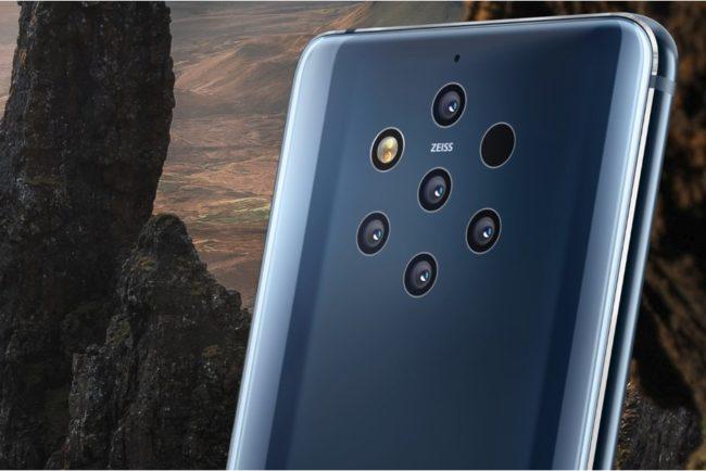 Nokia 9 PureView камеры