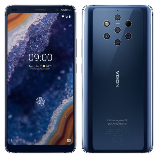 телефон Nokia 9 PureView