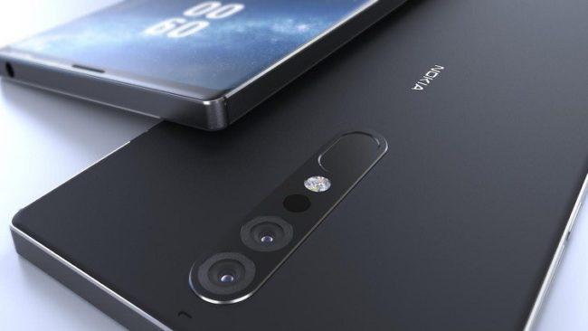 Nokia 9 камера