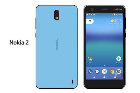 телефон Nokia 2 2017