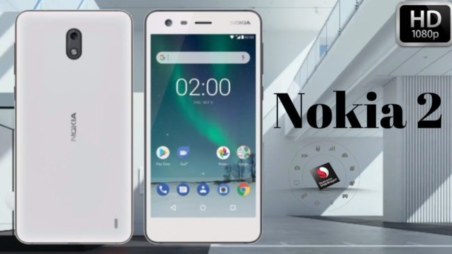 Nokia 2 дизайн