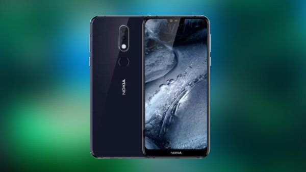 Nokia 7.1 экран