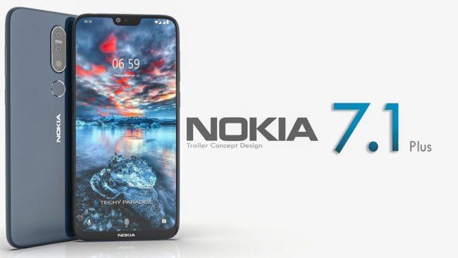 смартфон Nokia 7.1 Plus