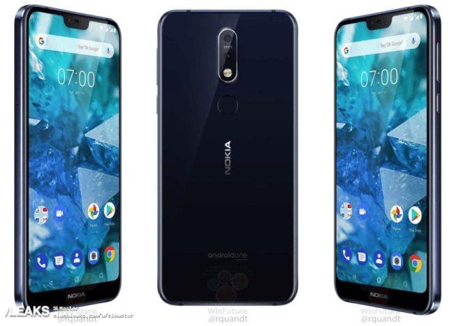 Nokia 7.1 камеры