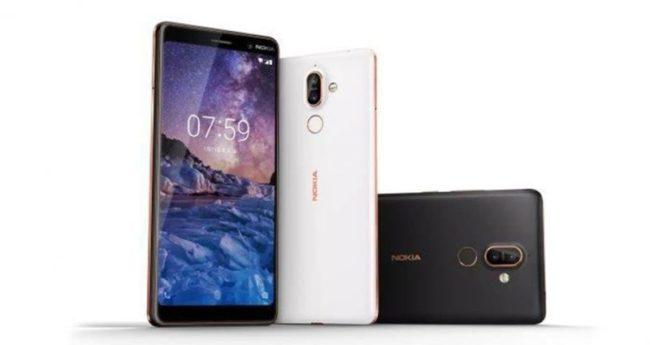 Nokia 7 Plus дизайн