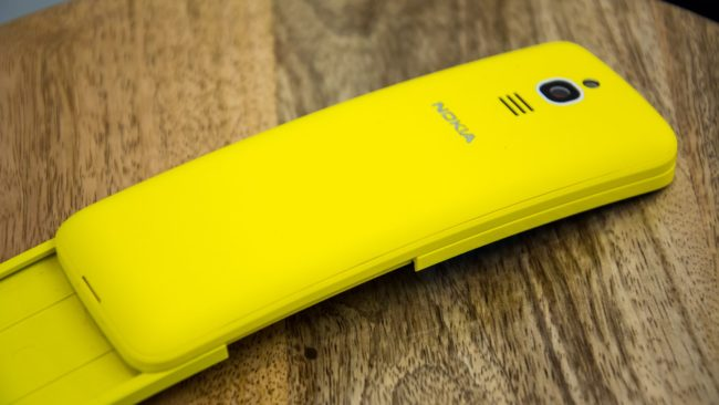 Nokia 8110 4G камера