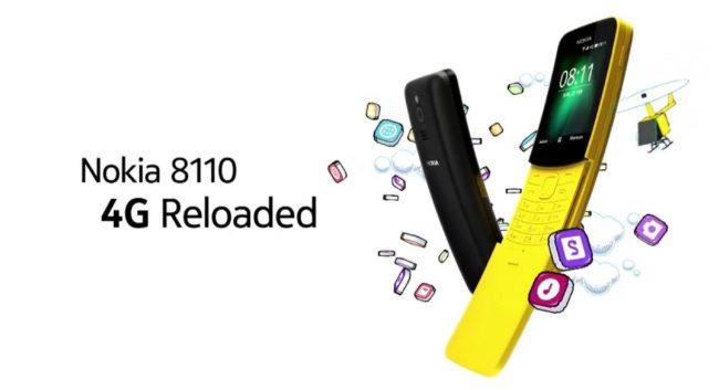 Nokia 8110 4G внешний вид