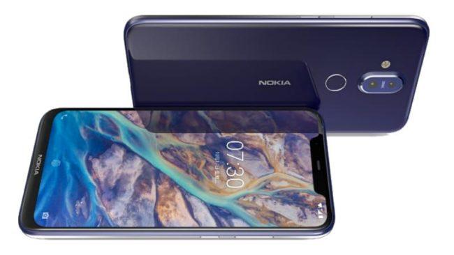 Nokia 8.1 экран