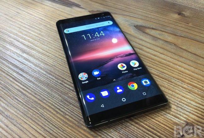 телефон Nokia 8 Sirocco