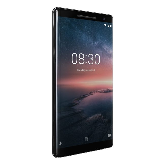 Nokia 8 Sirocco экран