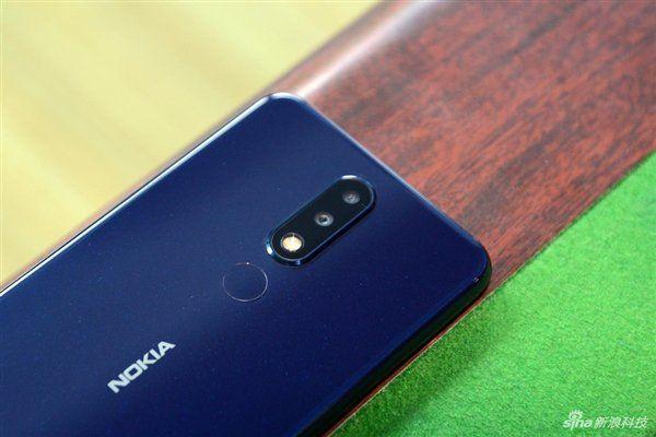 Nokia X5 камера