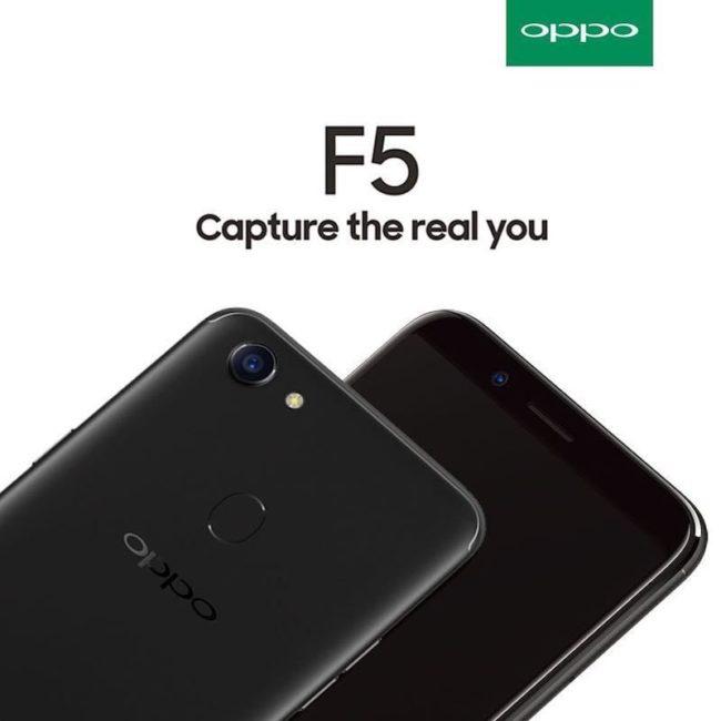 OPPO F5 экран