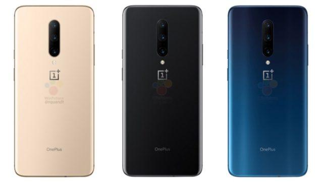 OnePlus 7 Pro цвета