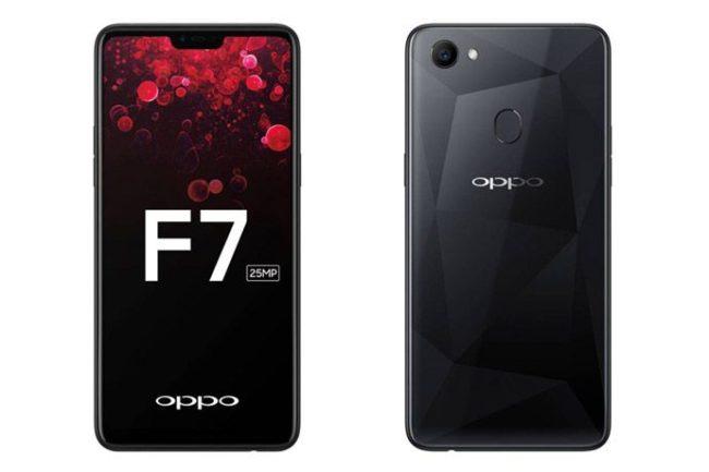 Oppo F7 экран