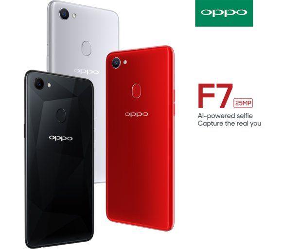 телефон Oppo F7