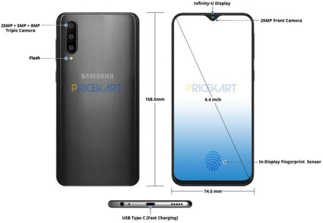 Смартфон Samsung Galaxy A50 — дата выхода, обзор