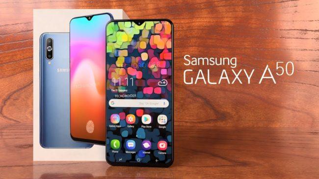 Samsung Galaxy A50 экран